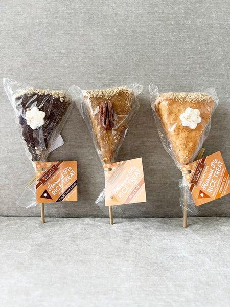Harvest Pie Rice Treats***3 Flavors