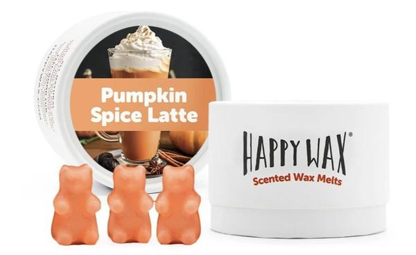 Happy Wax   Pumpkin Spice Latte Wax Melts