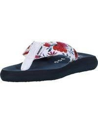 Rocket Dog Spotlight Floral Flip Flop