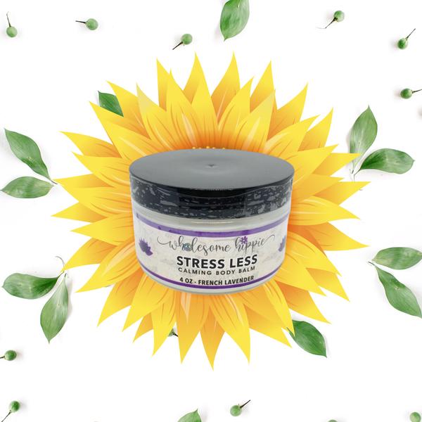 4oz Stress Less Calming Body Balm - French Lavender