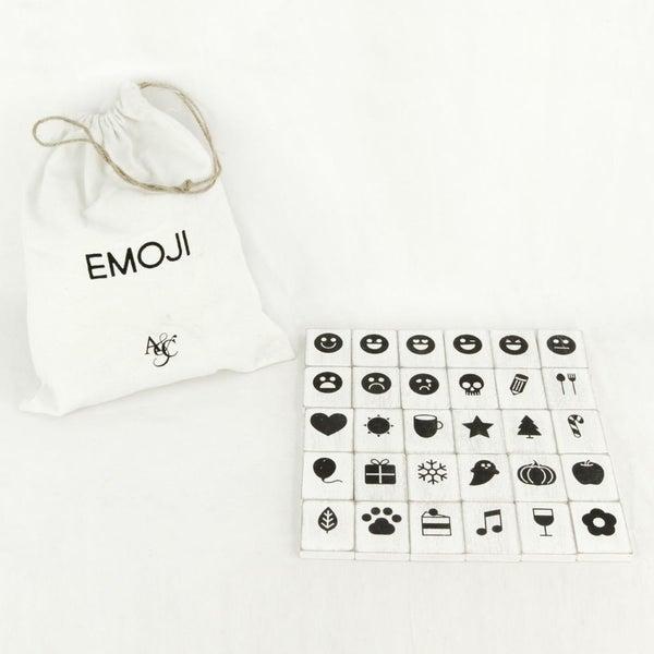 Letterboard Emojis - White