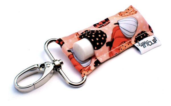 Lippy Clip | Patterned Pumpkin