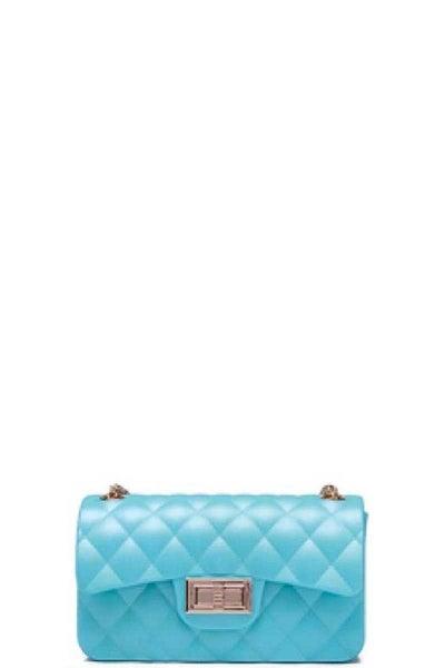 Caleesa PVC Mini Green Crossbody Bag