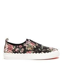 Rocket Dog Amber Black Floral Sneaker