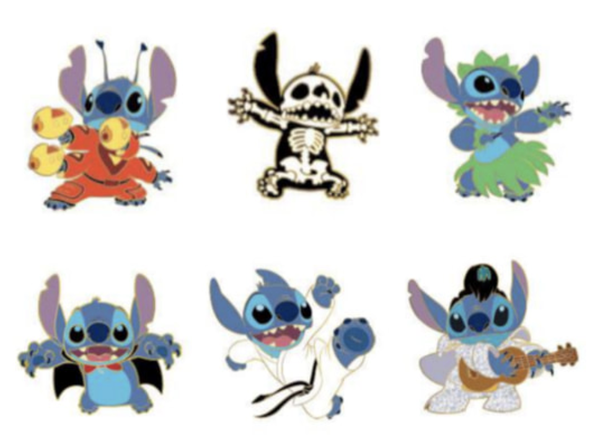 Loungefly Disney Lilo & Stitch Blind Box Enamel Pin