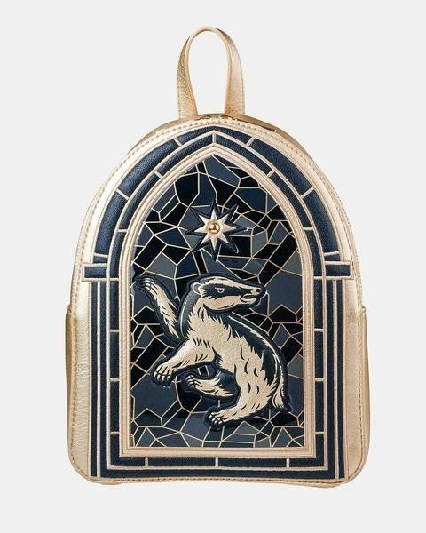 !Danielle Nicole Harry Potter Stainglass Mini Backpack