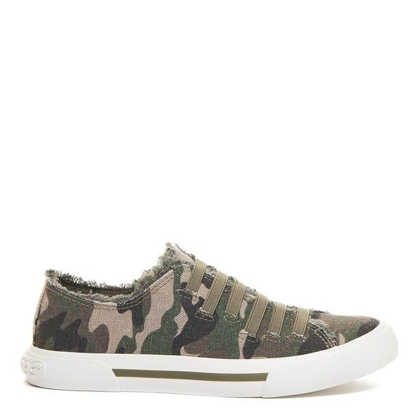 Jokes Soldier Camo Slip On Sneaker