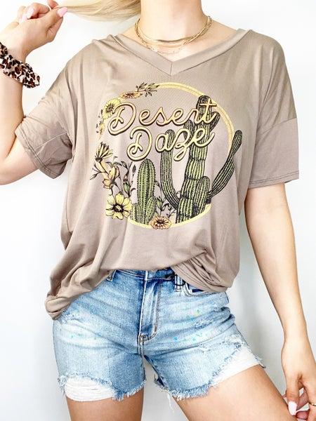 Desert Daze Mocha Graphic Tee