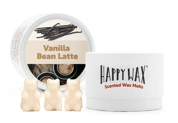 Happy Wax   Vanilla Bean Latte Wax Melts