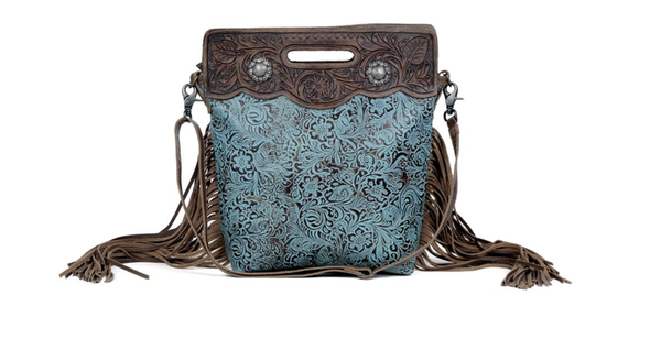 Blue Vine Handbag