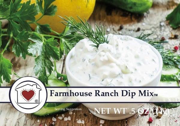 Mini Farmhouse Ranch Dip Mix