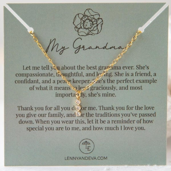 For Her Pendant Necklace, My Grandma