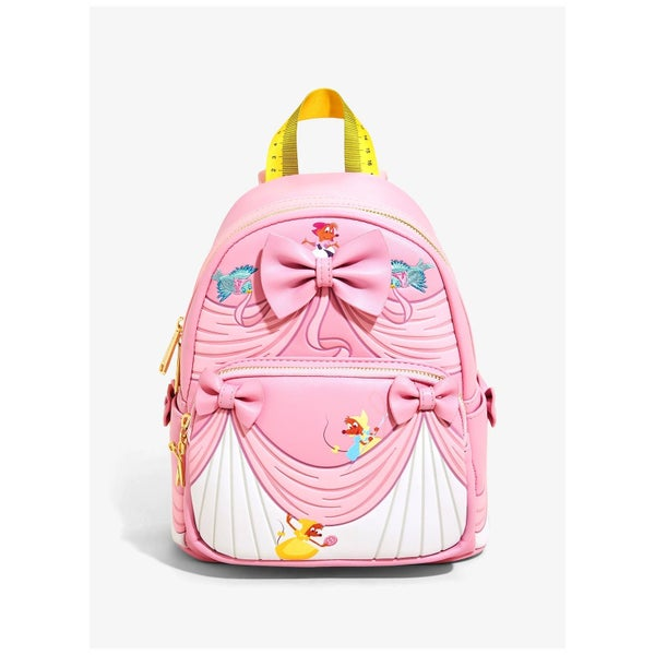 !LOUNGEFLY X DISNEY CINDERELLA DRESS MAKING MINI BACKPACK