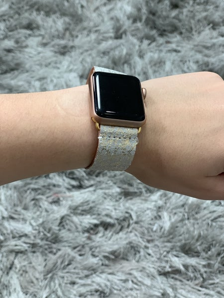 Apple Watch Band - Gold Snake Snap Clasp 38MM