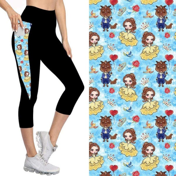 Kids' Capris with Pockets   Tale as Old as Time