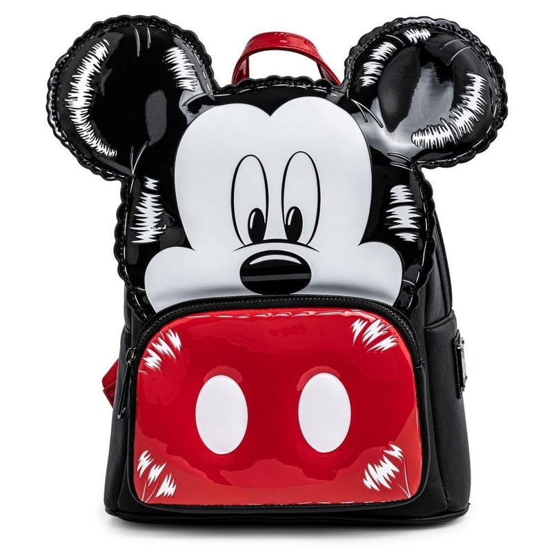 LOUNGEFLY X DISNEY MICKEY & MINNIE MOUSE BALLOON COSPLAY MINI BACKPACK