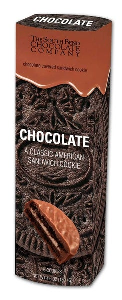 Chocolate Covered Chocolate Cookies (6 PACK)