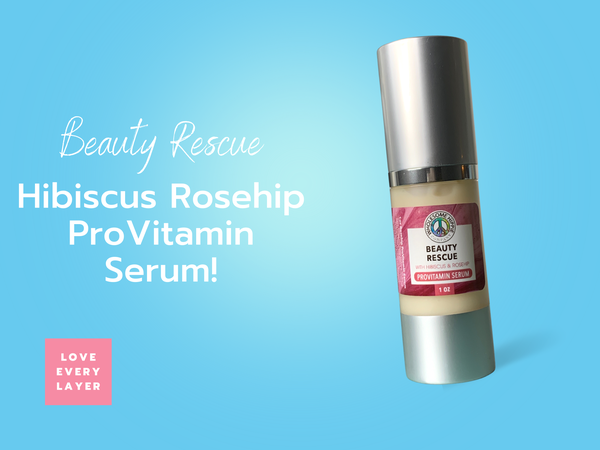 Wholesome Hippie Hibiscus Rosehip ProVitamin Serum with DMAE