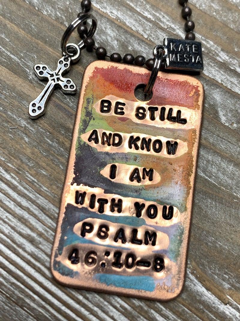 Kate Mesta Psalm 46:10