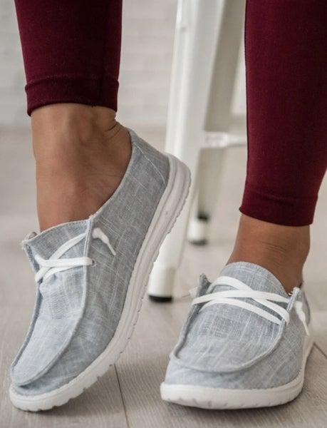 !Gypsy Jazz Holly LT Grey Sneakers