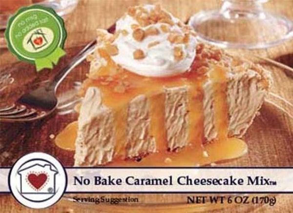 No-Bake Caramel Cheesecake Mix