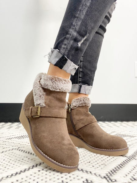 """Corky's Chocolate """"Chilly"""" Booties"""