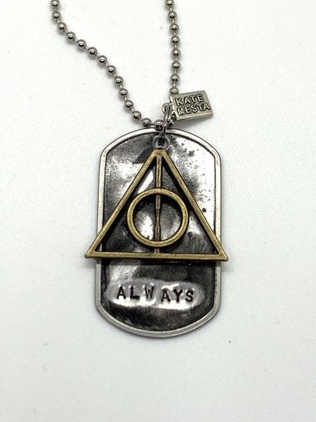 !Kate Mesta Always (Harry Potter)  Necklace