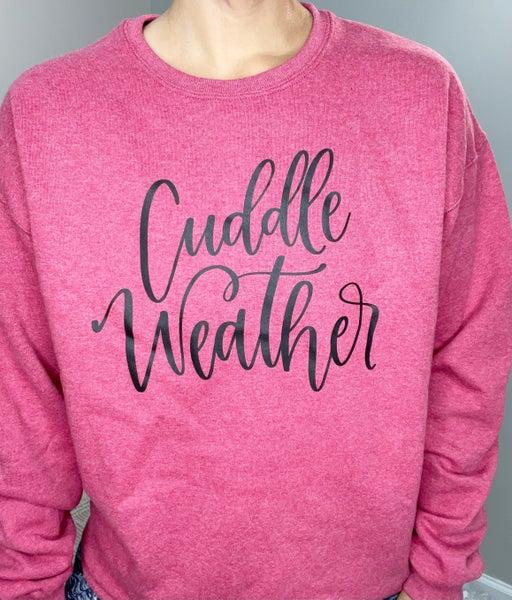 Cuddle Weather Graphic Sweatshirt