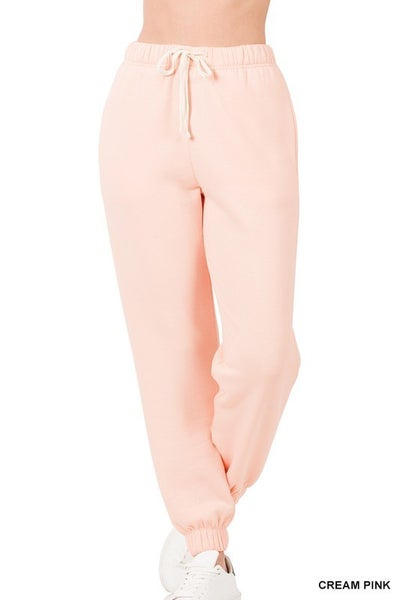 Soft Stretch Sweatpants with Pockets ***MULTIPLE COLORS***