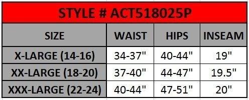 Women's Active High Rise 5-Pocket Capri Leggings in Brick Red