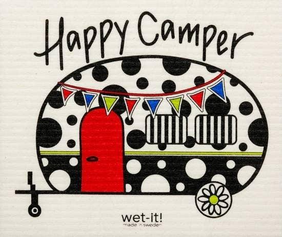 Wet It Cloths | Happy Camper Swedish Cloth