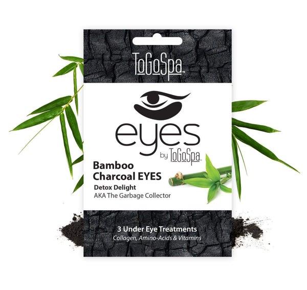 Under Eye Collagen Gel Pads - Bamboo Charcoal Eyes