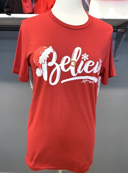 SMALL LONG SLEEVE ONLY - Believe Long Sleeve Graphic Tee