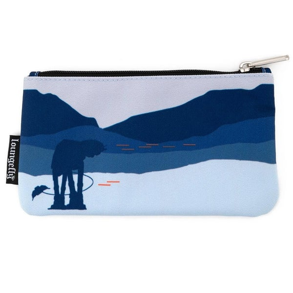 !LOUNGEFLY X STAR WARS HOTH AT-AT NYLON POUCH