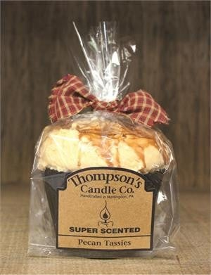 Pecan Tassies Muffin Candle