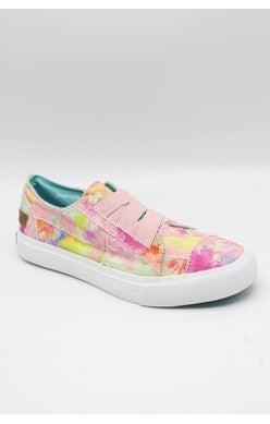 7.5 & 8 ONLY Blowfish Marley - Pink Rainwater Canvas