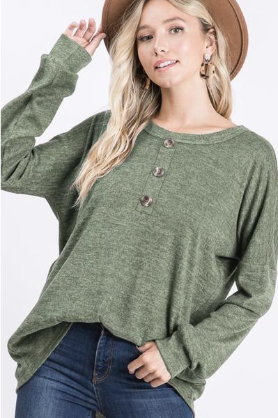 Heimish Olive Sweater