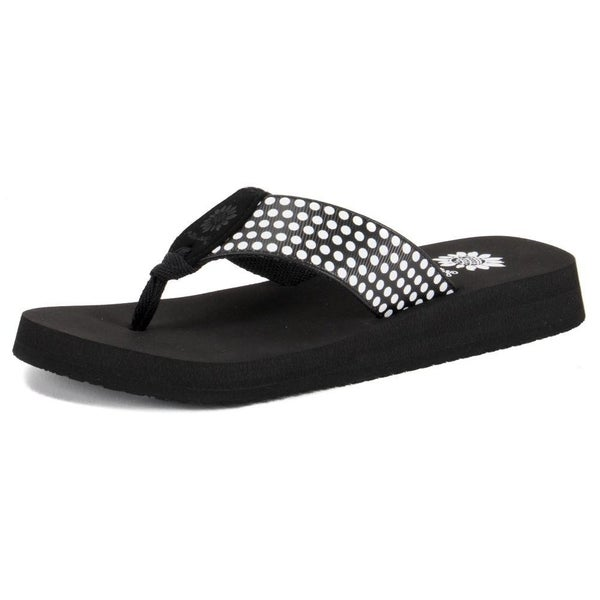 Yellow Box Fromy Flip Flop BLACK ONLY