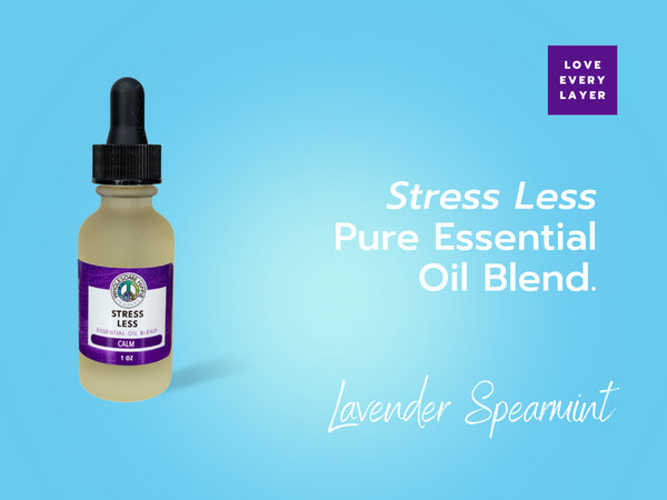 Stress Less Essential Oil Blend - Peace - Lavender Mint