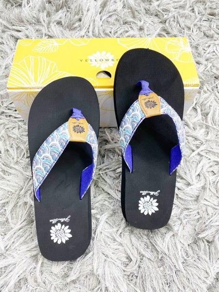 Yellowbox Fabulis - Purple Multi Flip Flops