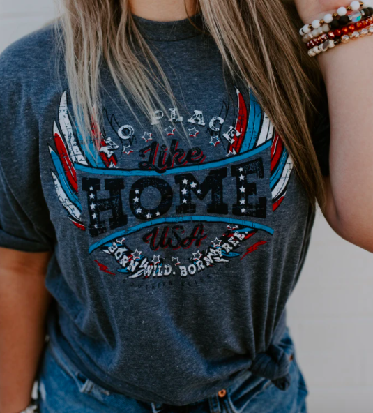 No Place Like Home Graphic Tee