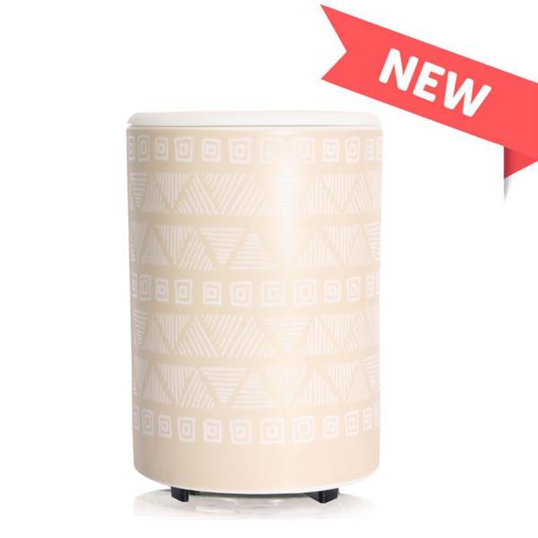 Happy Wax Mod Wax Warmer - Tan Pottery
