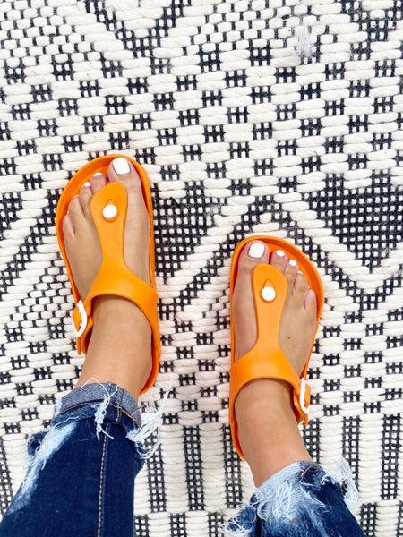 Corkys Jet Ski Orange