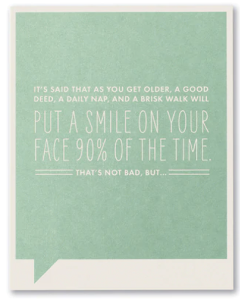 Put A Smile On...card