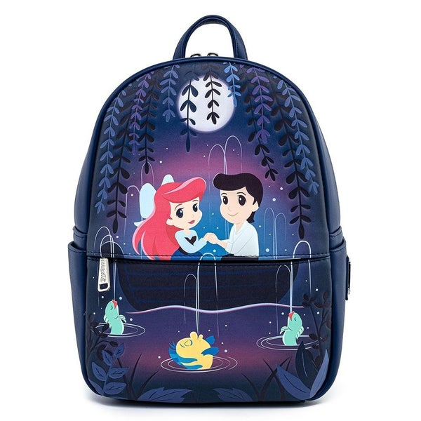 LOUNGEFLY X DISNEY THE LITTLE MERMAID GONDOLA SCENE MINI BACKPACK