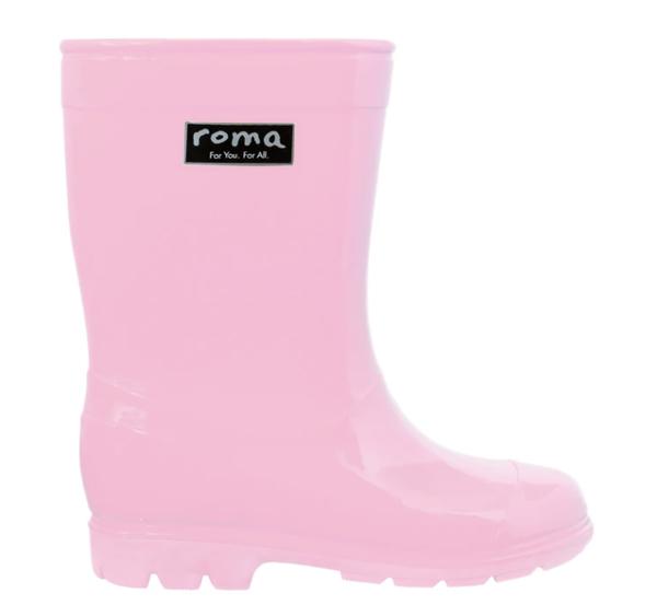 Abel Pink Kids Rain Boots