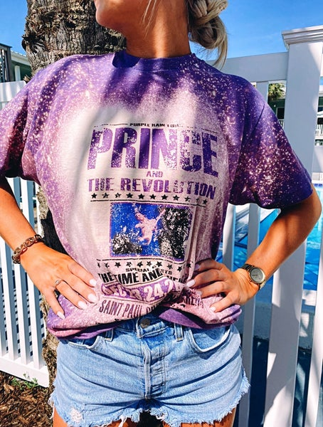 Prince Bleached Graphic Tee