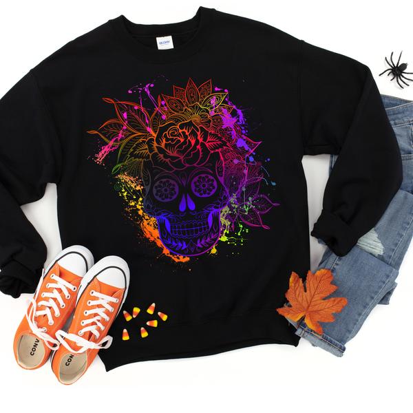 SUGAR SKULL | Graphic Sweatshirt