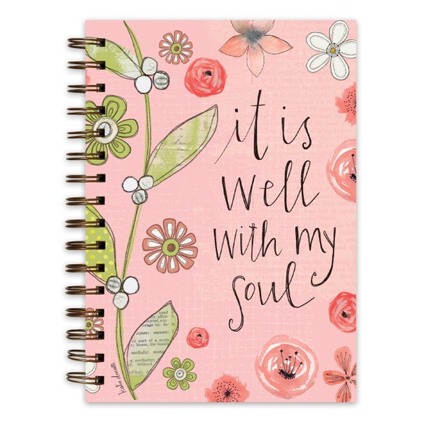 It Is Well With My Soul Wire Bound Journal