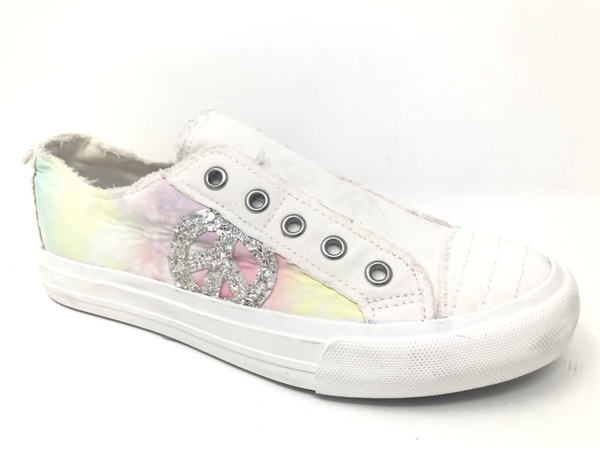 9.5 ONLY - CODE GOTTAGO Gypsy Jazz Absolute Sneakers in Pastel